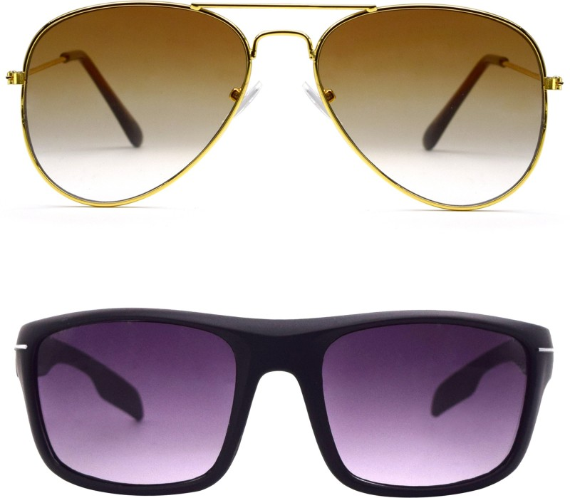 Ocnik Aviator Sunglasses(For Boys & Girls) image
