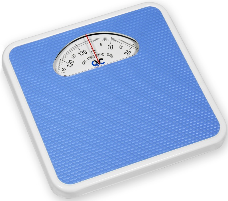GVC Large-Surface Iron Analog Weighing Scale(Blue)