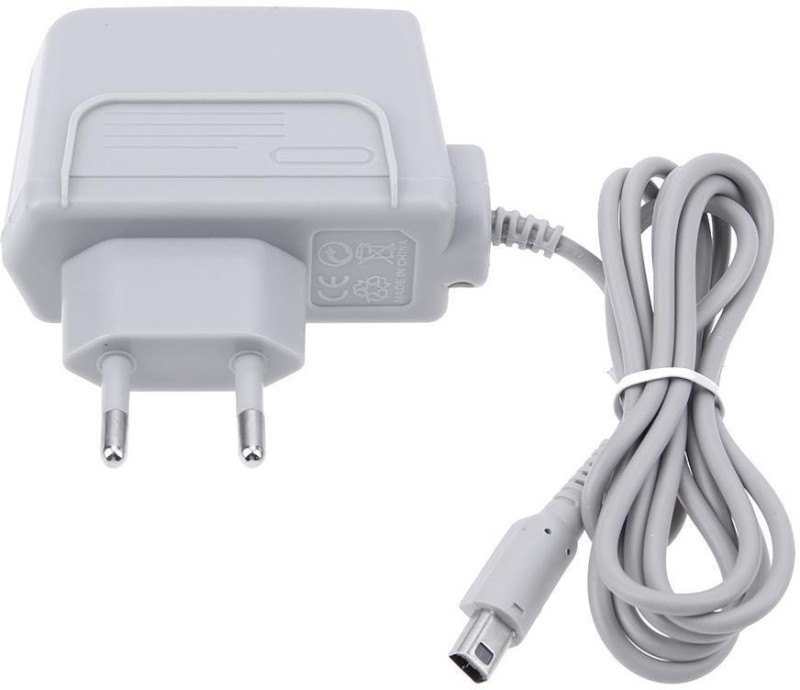 Kebilshop DSi/XL/3DS/3DS XL Power Supply Adapter/Charger Gaming Adapter Gaming Adapter(Grey, For Wii)