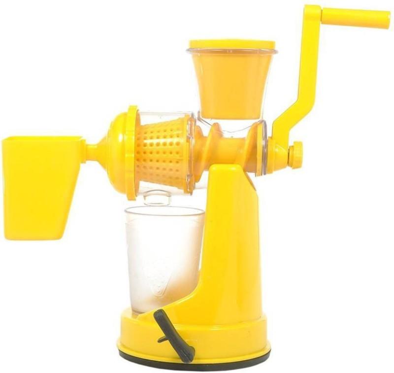 Floraware Plastic Hand Juicer(Yellow)