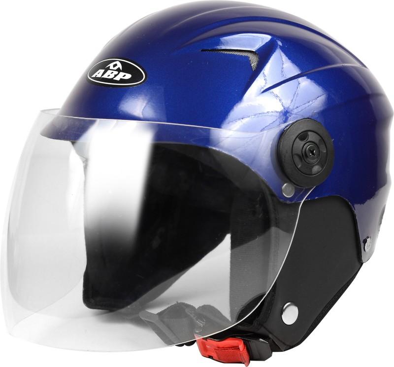 ABP Q3 motor bike helmet for ladies glossy blue Motorbike Helmet(Blue)
