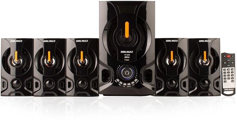 Drumzz HT- 2300(5.1)BT Bluetooth Home Theatre(Black, 5.1 Channel)