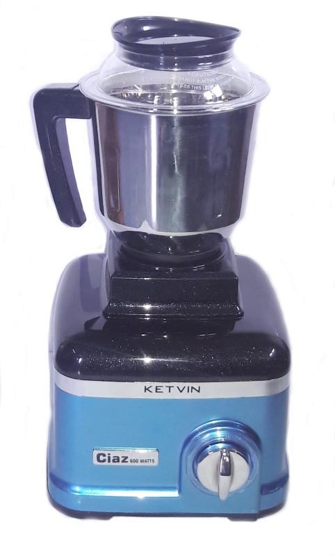 KETVIN 901-C CIAZ MIXER GRINDER 600 Mixer Grinder(Blue, 3 Jars)