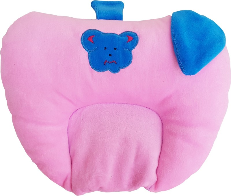 My New Born Heart Shape, Animal shape Baby Pillow Pack of 1(Pink)