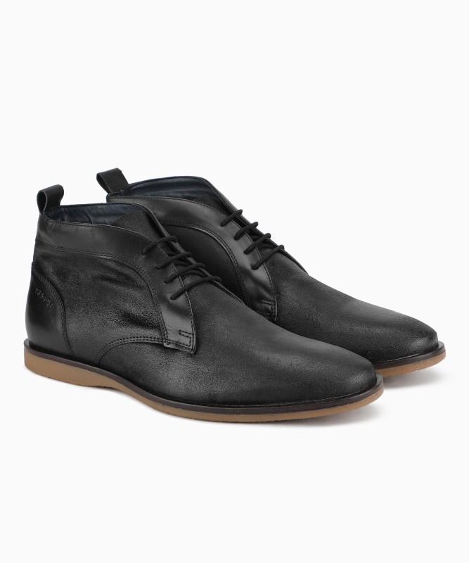 Ruosh VENICE 02 B Boots For Men(Black)