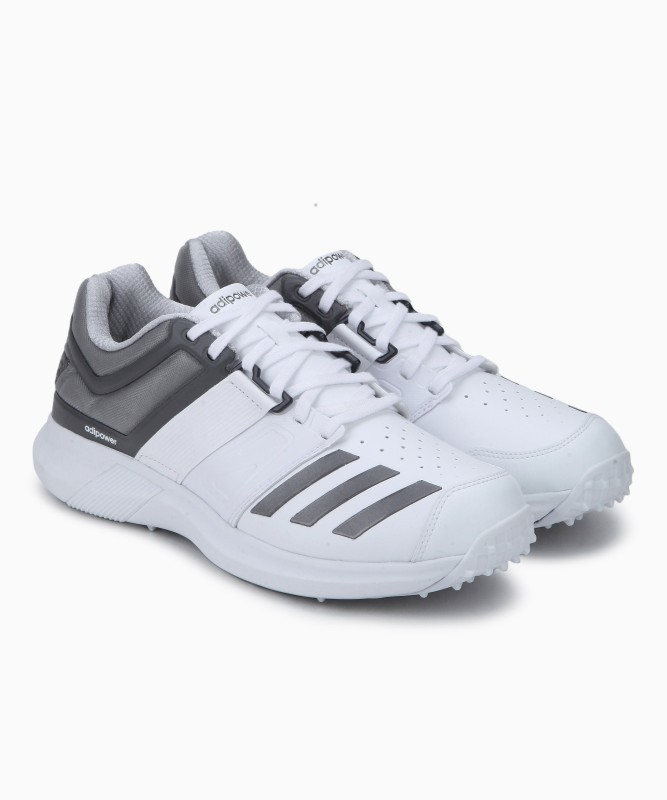 ADIDAS ADIPOWER VECTOR Cricket Shoes For Men(White)