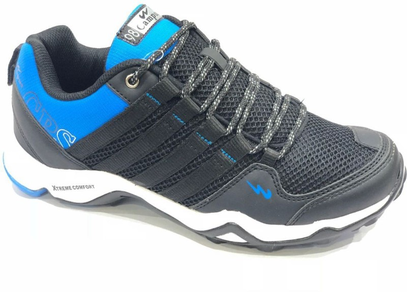 Campus Running Shoes For Men(Black)