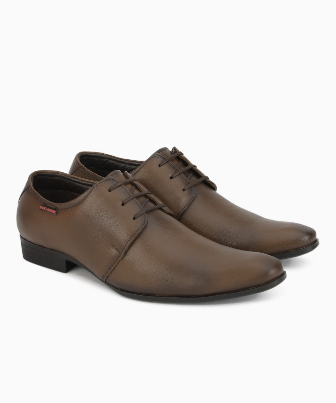 Red Chief RC3532 Lace Up For Men(Brown)