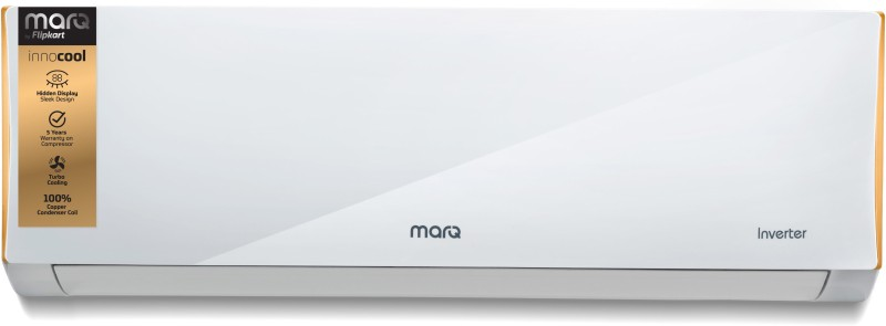 MarQ by Flipkart 1.5 Ton 5 Star BEE Rating 2018 Inverter AC - White(FKAC155SIA, Copper Condenser)