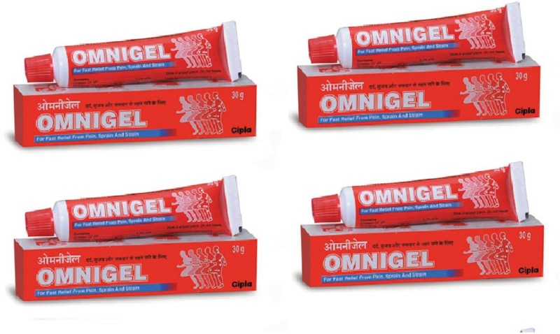 Omnigel all type Pain killer Massage Cream(120 g)