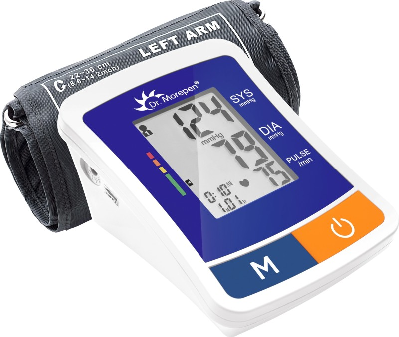 Dr. Morepen BP-12 BP One Bp Monitor(Blue)
