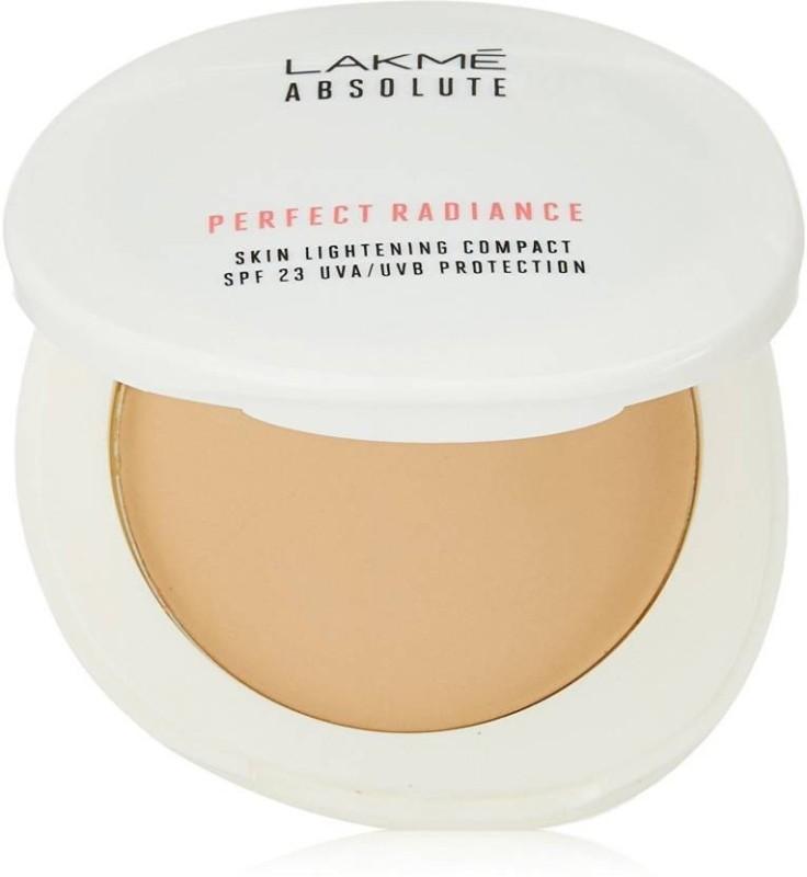 Lakme Absolute Perfect Radiance Skin Lightening SPF23 UVA Protection Compact(Golden Medium 03, 8 g)