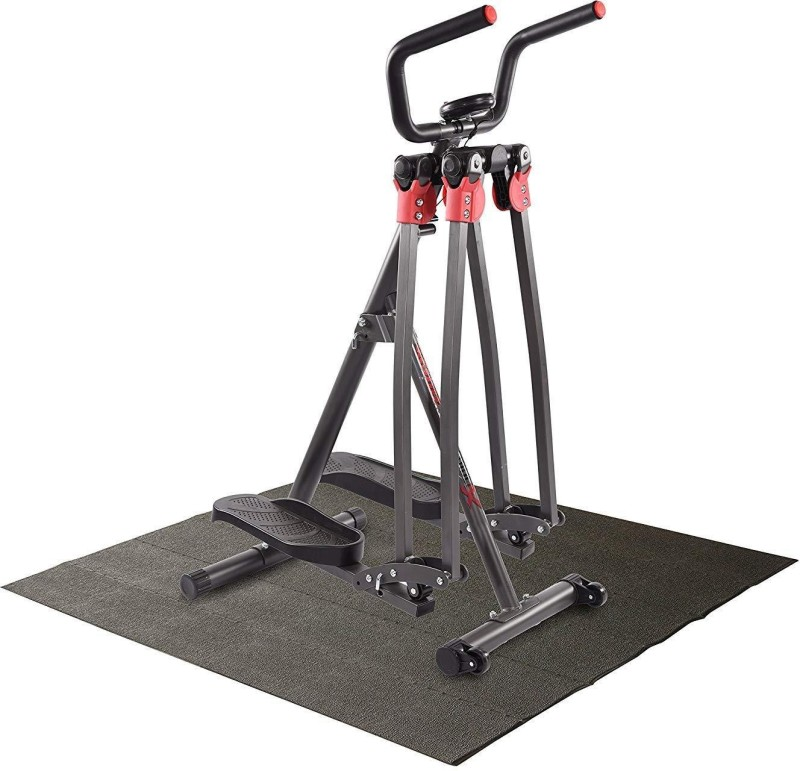 Kobo 360 Dual Action/Air Walker Cross Trainer Elliptical Glider Step Machine Cross Trainer(Black, Red)
