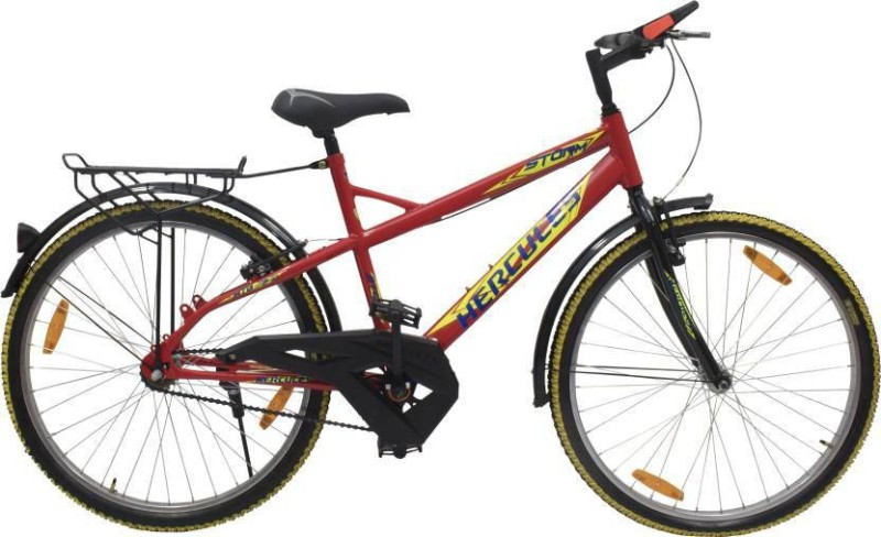 HERCULES Storm RF 26 T Mountain Cycle(Single Speed, Black)
