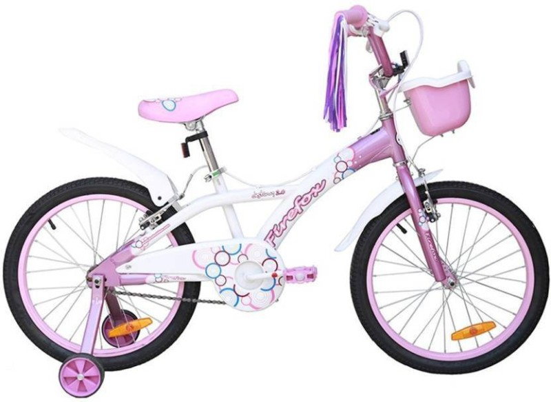 Firefox Destiny 20 T Girls Cycle/Womens Cycle(Single Speed, White, Pink)
