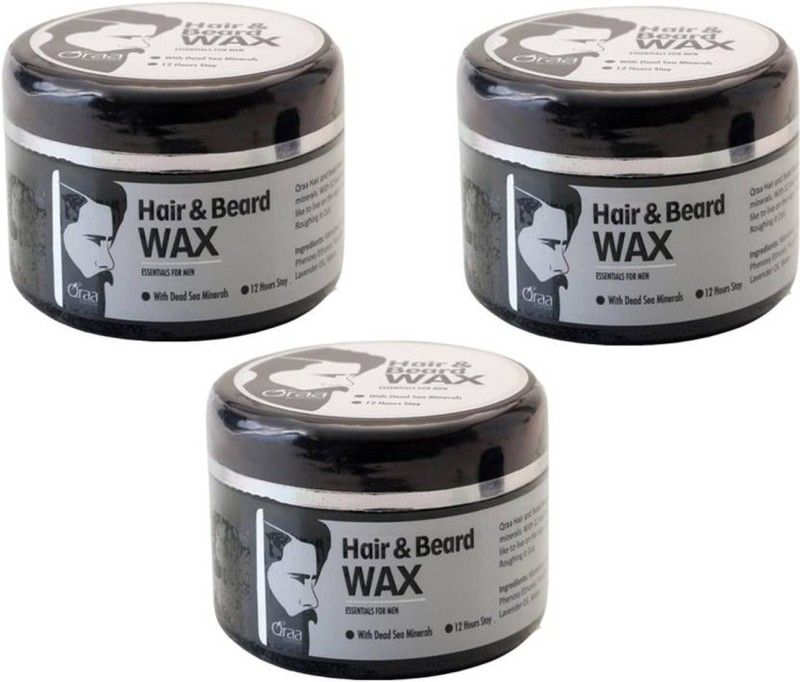 Wonder Star Strong quality Styling Hair & Beard Gel Wax- 300gm (3 Pcs Combo set) Hair Wax(300 g)
