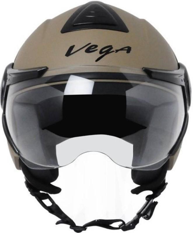 VEGA VERVE Motorbike Helmet(DULL DESERT)