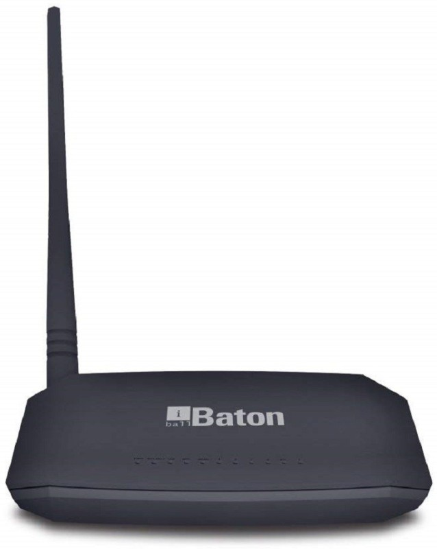 IBall Wireless-N ADSL2+ Router Router(Black)