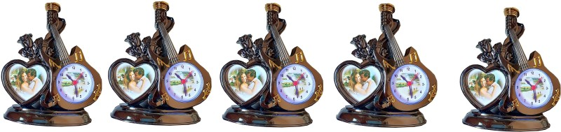 fashion hub brand brown color clock 5pc Sand Clock