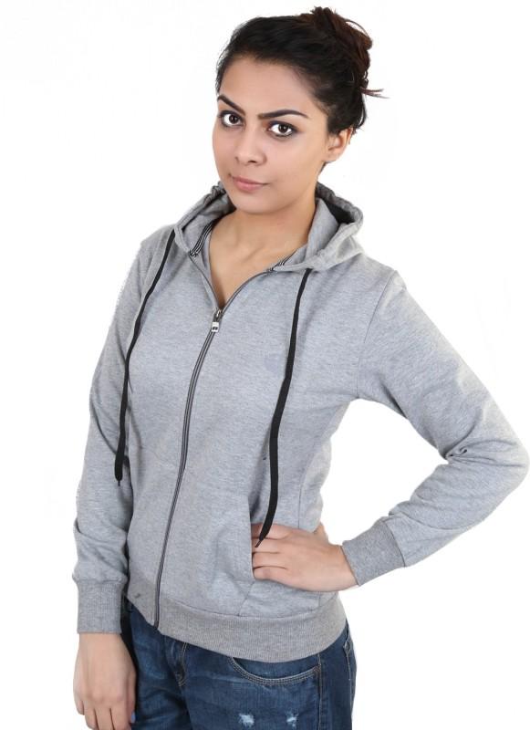 5fin Full Sleeve Solid Womens Sweatshirt