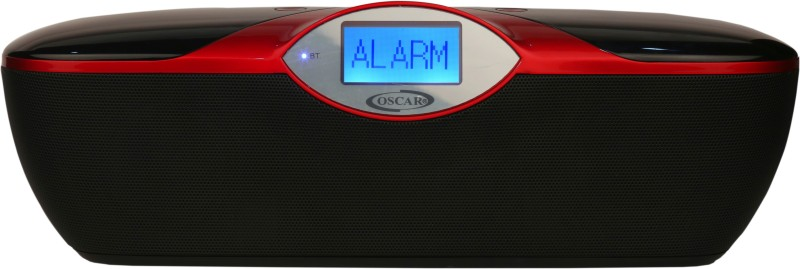 Oscar OSC-180-GDP 5 W Portable Bluetooth Speaker(Red & Black, Stereo Channel)
