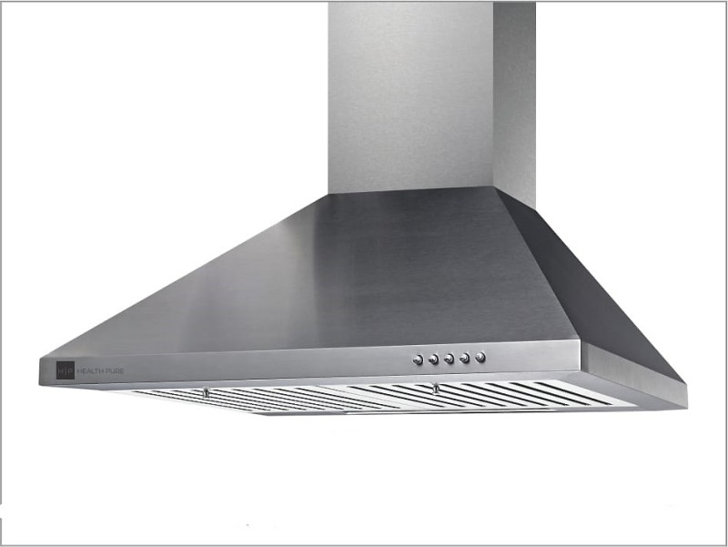 health pure Micra Wall Mounted Chimney(silver 900 CMH)