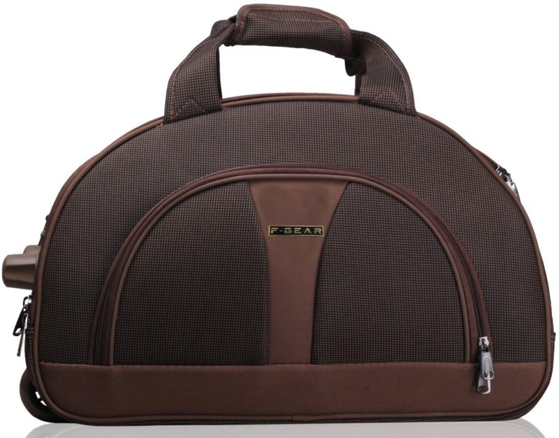 F Gear 24 inch/61 cm 2390a Travel Duffel Bag(Brown)