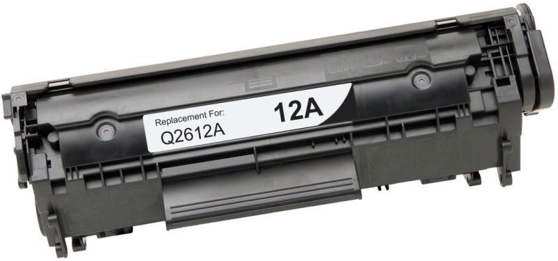 FUTUREZONE Q2612A / 12A Toner Cartridges (Pack of 2) for HP LaserJet - 1010, 1012, 1015, 1018, 1020, 1022, 1022n, 3020, 3030, 3050, 3052, 3055, M1005, M1319f fz Black Toner