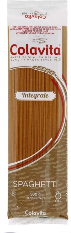 Colavita Spaghetti Pasta (WHOLE WHEAT) Spaghetti Pasta(500 g)