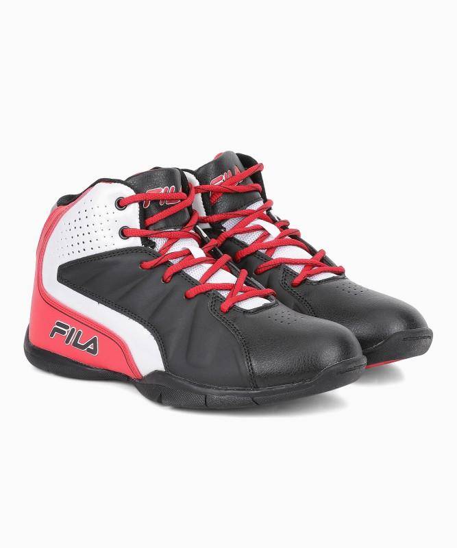 Fila Basketball Shoes For Men(Red, Black)