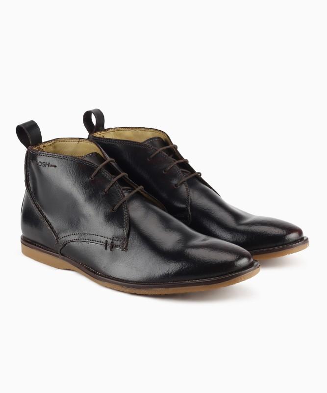 Ruosh VENICE 01A Boots For Men(Black)