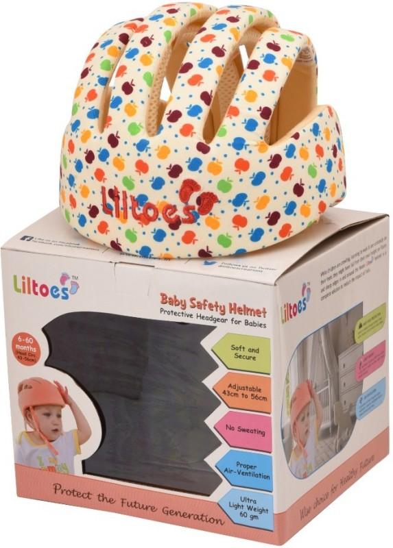 LILTOES Safety Baby Helmet(Apple Print)