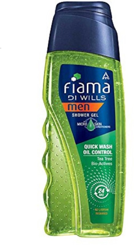 fiama di wills men shower gel with tea tree & bioactives(250 ml)