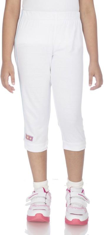 Ocean Race Fashion Women White Capri