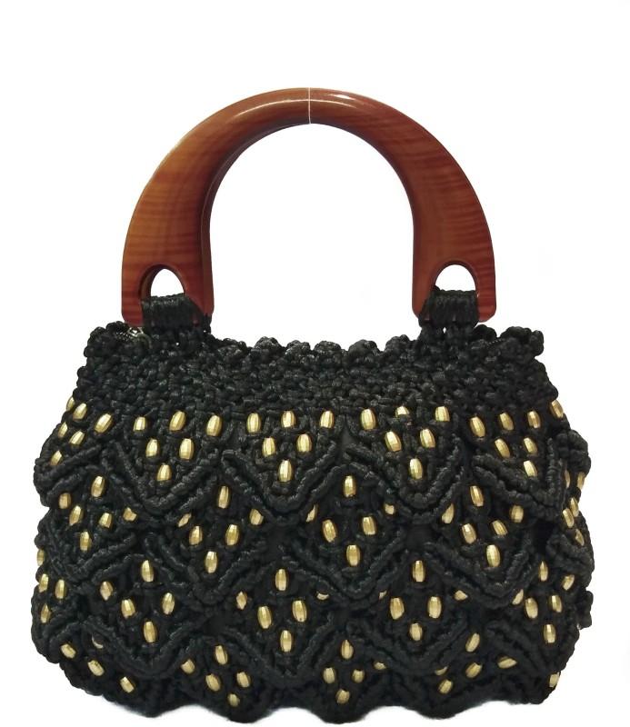 RITA'S Women Black Hand-held Bag