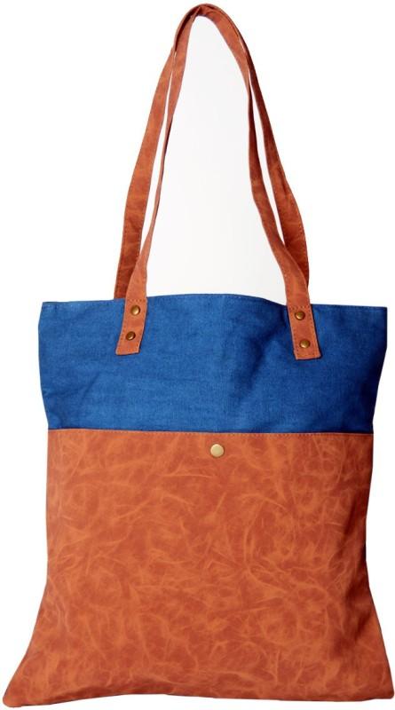 Karpasam Women Blue Shoulder Bag