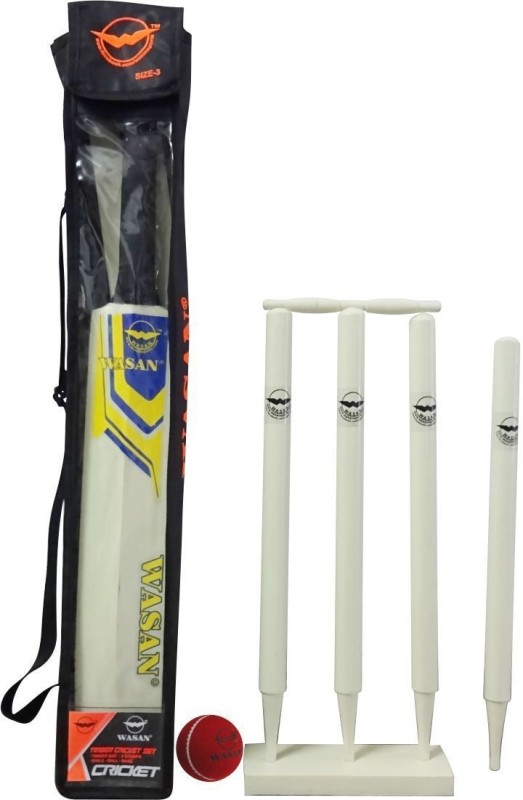 Wasan Cricket set 3 Cricket Kit(Bat Size: 3 (Age Group 8+))