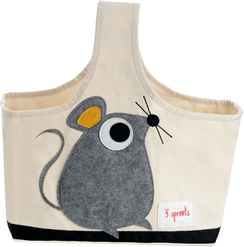 3 Sprouts Storage Caddy-Mouse Storage Caddy(Multicolor)