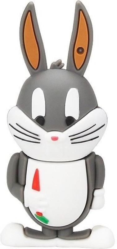 Pankreeti Rabbit Bugs Bunny 32 GB Pen Drive(Grey)