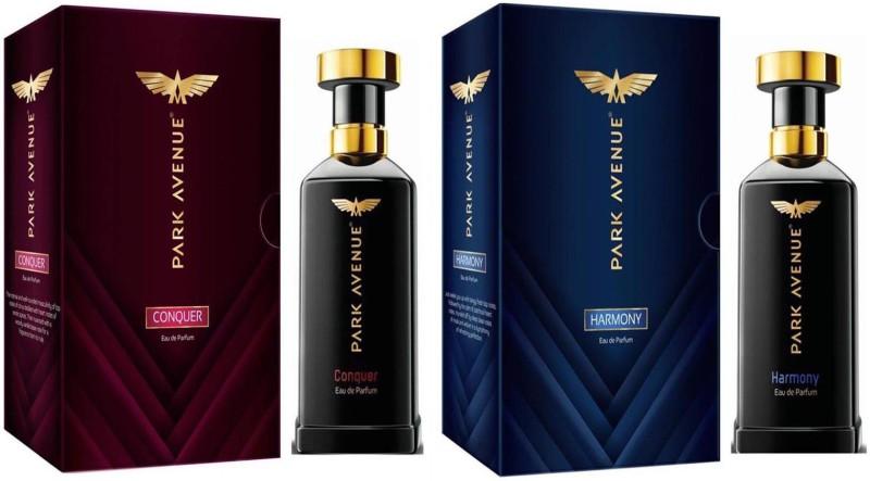 Park Avenue EDP Perfume Conquer + Harmony 50ml x 2 Pack Of 2 Eau de Parfum - 100 ml(For Men & Women)