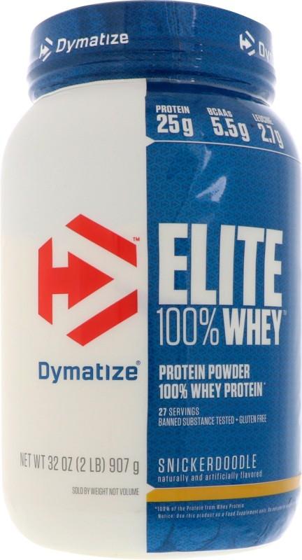 Dymatize Elite Whey Protein(907 g, SnickerDoodle)