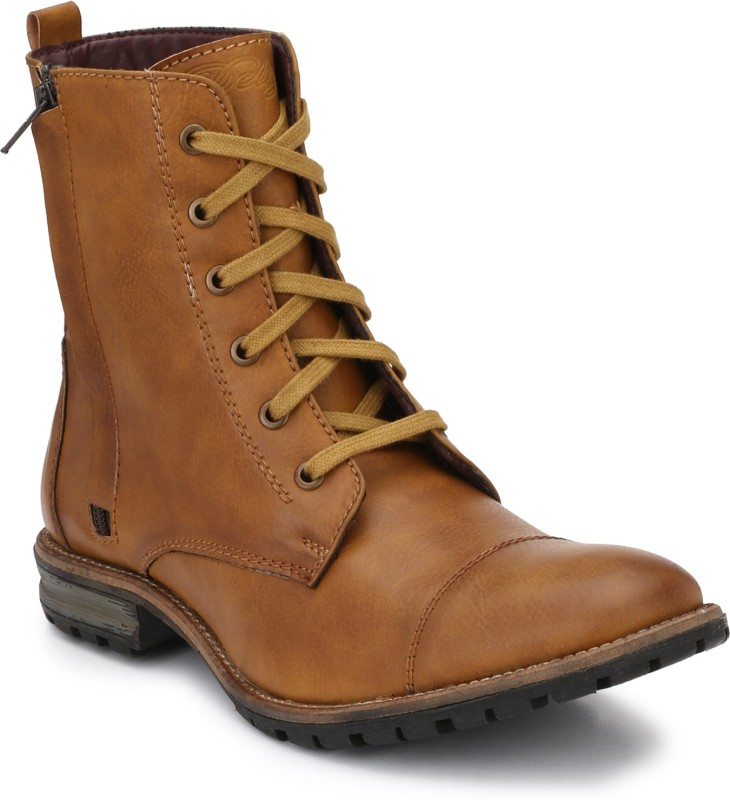 Delize Delize Tan Heking &trekking Boots Boots For Men(Tan)