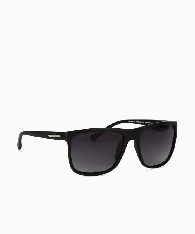 Spartan Rectangular Sunglasses(Grey) image