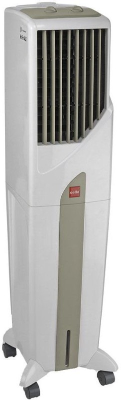 Cello TOWER 50 PLUS Room Air Cooler(White, 50 Litres)