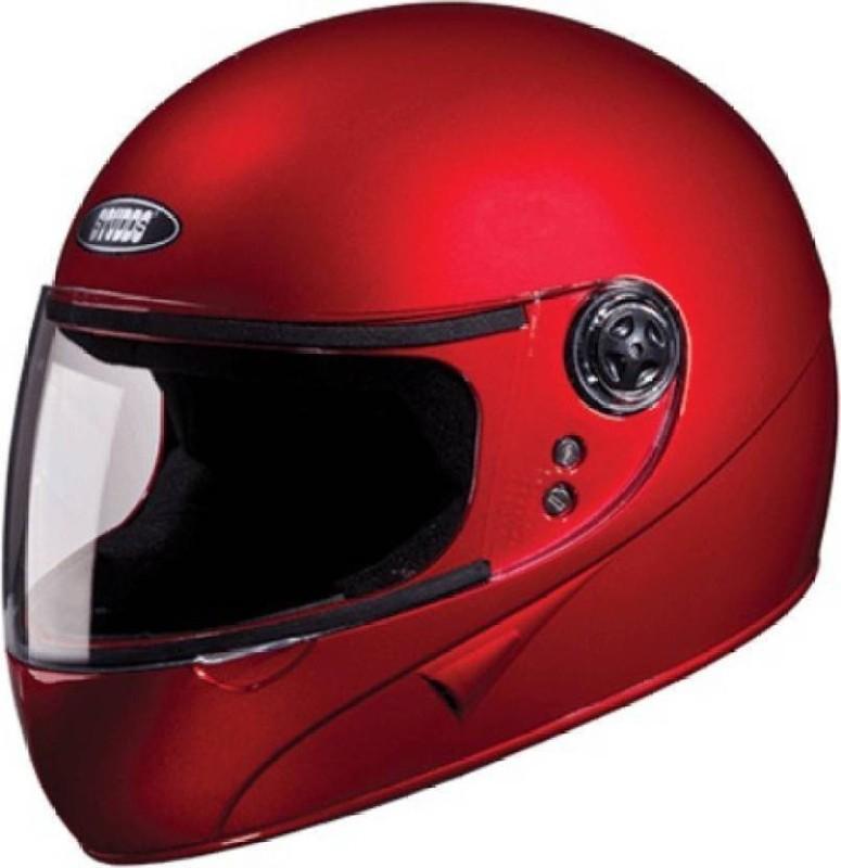Studds Chrome Super Motorbike Helmet(Red)