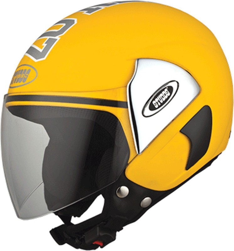 Studds CUB07(YELLOW) Motorbike Helmet(Yellow)