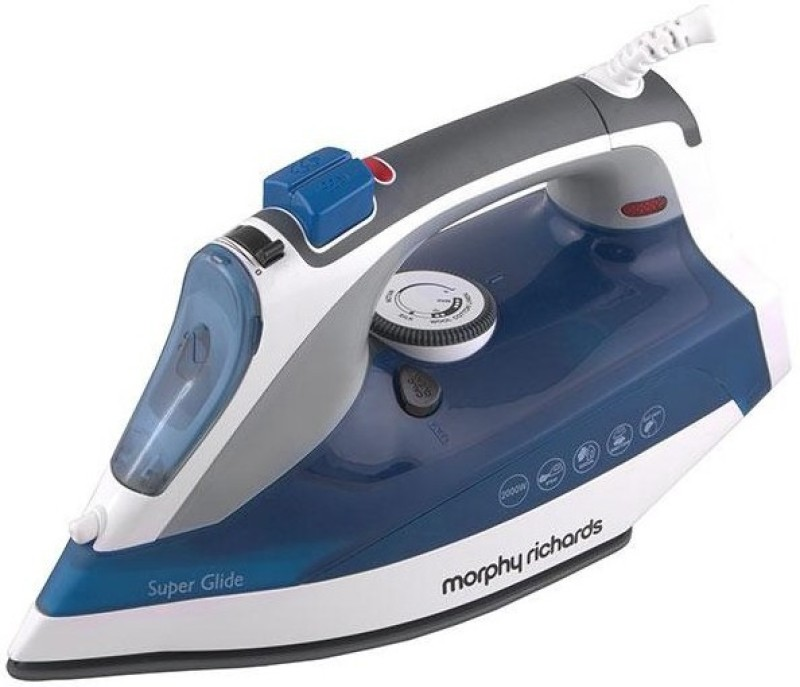 Morphy Richards Super Glide Steam Steam Iron(Blue)