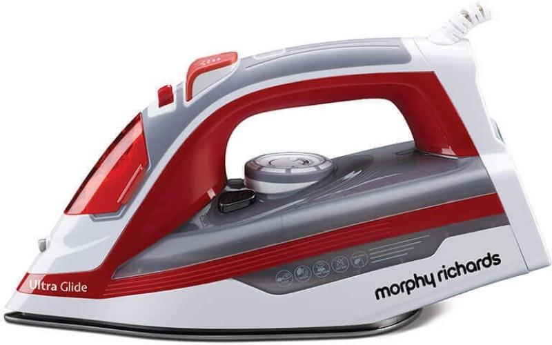 Morphy Richards Ultra Glide 1600-Watt Steam Iron Steam Iron(White/Red)