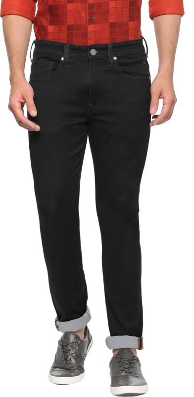 Louis Philippe Slim Men Black Jeans