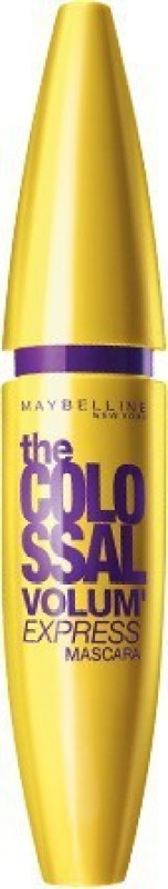 Maybelline New York The Colossal Volum Express Washable Mascara, Classic Black 231, 0.31 Fluid Ounce 10.7 ml(Peppey)